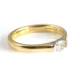 gold engagement rings for 18ct yellow gold engagement ring from wrights the jewellers uk