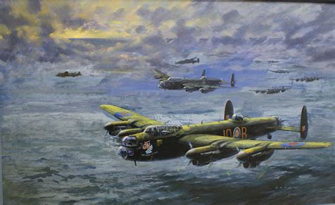 Avro Lancaster 'We Dood It Too' 1 (Original) (Signed) by ...