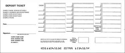 blank deposit slip printable deposit slips for quickbooks big