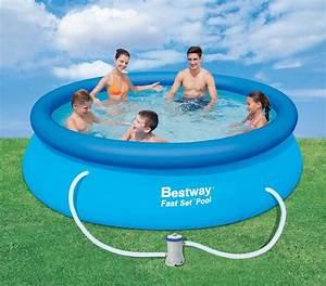 Bestway Pool Set : bestway 10 39 x 30 inflatable fast set pool kit shop your way online shopping earn points on ~ Eleganceandgraceweddings.com Haus und Dekorationen