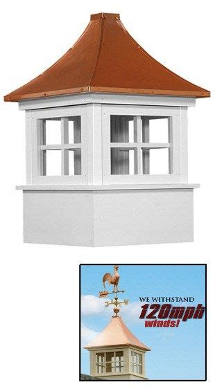 Vinyl Cupola Kits by The Orleans Select Series Vinyl Cupola Cupolas Copper