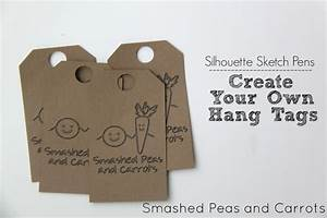 Tutorial how to make your own hang tags with silhouette for Create hang tags
