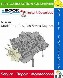 Nissan Model L14  L16  L18 Series Engines Service Repair
