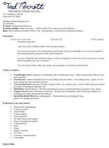 exles of resumes 87 glamorous simple resume sle