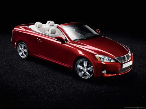 lexus convertible 2010 lexus is convertible buying guide
