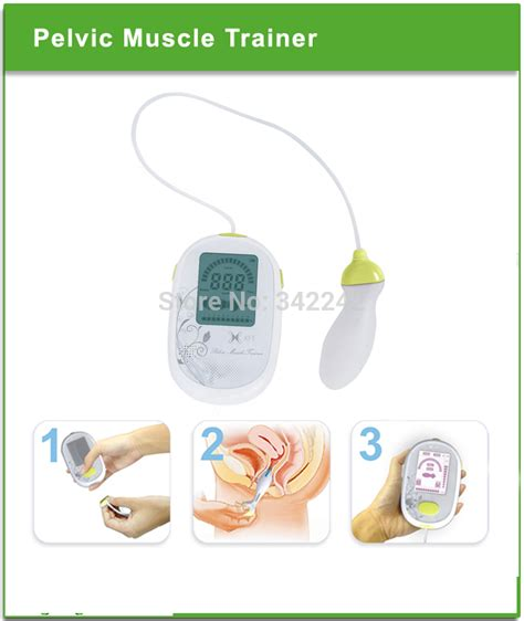 pelvic floor trainer biofeedback kegel exercise postpartum recovery treatment of urinary