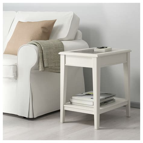 glass end tables ikea liatorp side table white glass 57x40 cm ikea