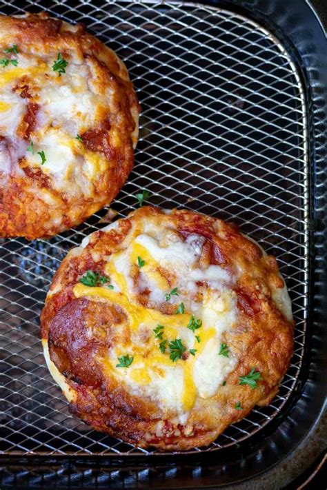 pizza frozen fryer air recipes oven cook tastyairfryerrecipes main dinner cooking mini pizzas links personal fry cooked recipe courses cuisine