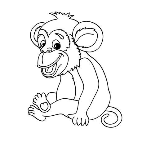desenho de macaco para colorir e imprimir toda atual