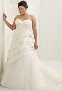 theglamouraidecoration fashion advice for plus size women With wedding dresses for plus size brides cheap