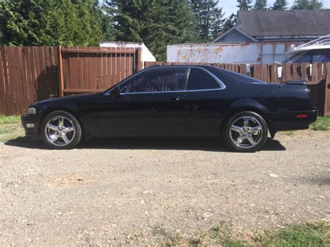 Acura Legend 6 Speed by Acura Legend Coupe 1994 Black For Sale Jh4ka817xrc800024