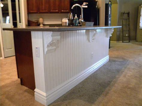 Corbel Installation by Grand Design Kitchen Island