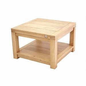 Petite Table Extensible : table basse extensible broadway meuble salon ~ Teatrodelosmanantiales.com Idées de Décoration