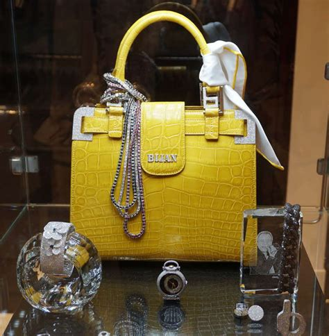 """According to the bijan website, the bugatti veyron parked outside was produced in molsheim, france; Bijan Bags Come From The """"World's Most Expensive Store"""". Here's What The Fuss Is All About"""