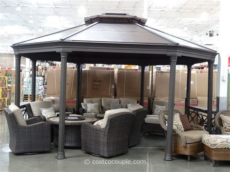 Gazebo Costo Metal Gazebos Costco Pictures Pixelmari