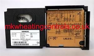 Siemens Lal2 25 240v Control Box  Lal2 25  Lal 2 25