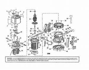 Ryobi Model R161 Router Genuine Parts