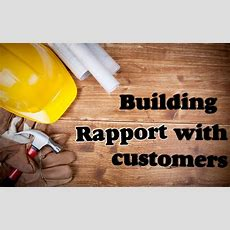5 Tips On How To Build Rapport With Customers