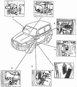 Deawoo Korando  1999 - 2001  - Fuse Box Diagram