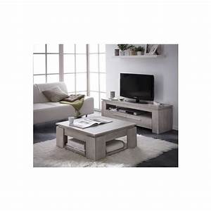 Ensemble table basse meuble tv segur 140cm achat for Table de sciage maison 11 ensemble table basse meuble tv segur 140cm achat
