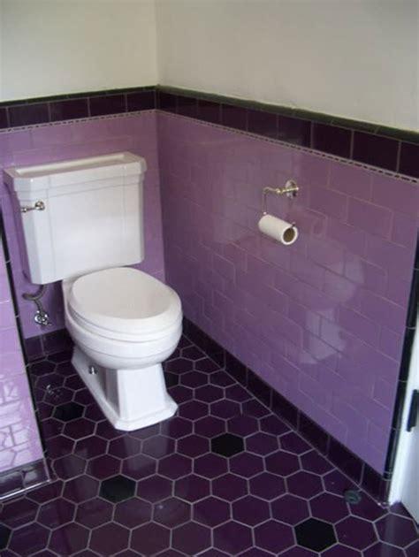 Purple Bathroom Tiles by 24 Purple Bathroom Floor Tiles Ideas And Pictures