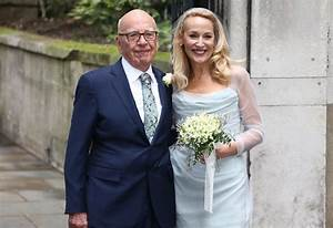 Jerry Hall and Rupert Murdoch look very much in love on ...