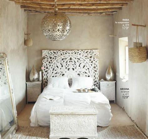 tete de lit en bois maison du monde tendances maison monde