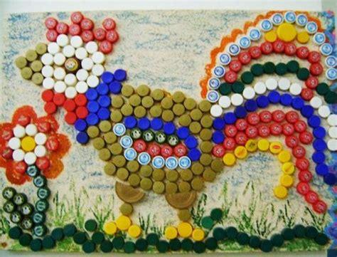 creative ideas  reuse  recycle bottle caps