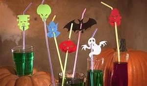 Gruselige Bastelideen Zu Halloween : lustige halloween strohhalme zum selberbasteln ~ Lizthompson.info Haus und Dekorationen