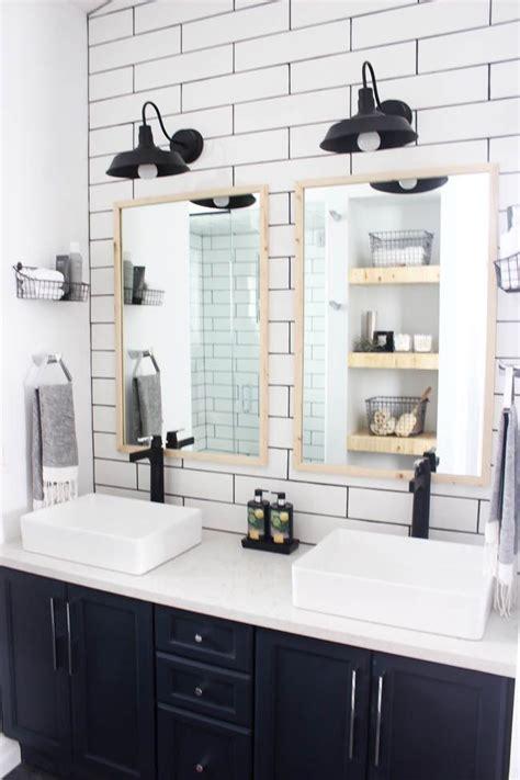 Black Bathroom Fixtures Decorating Ideas by Modern Bathroom Reveal Bathrooms Bathroom Bathroom