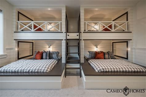 Bunk Room In Utah By Cameo Homes Inc Utah Luxury Home