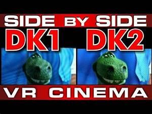 OCULUS RIFT DK2 vs DK1 SIDE by SIDE LENS VIEW Screen ...