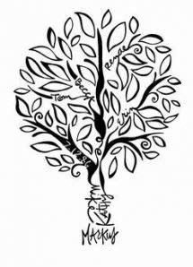 Family Tree Tattoo Designs Leaves 43+ Ideas   Family tree