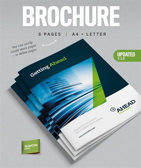 Brochure Template Design 31 Premium Brochure Templates Booklets And Tri Folds