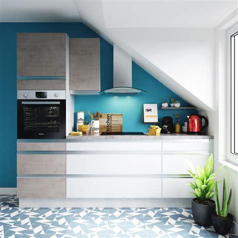 cuisine blanche et bleu quelles couleurs associer dans une cuisine blanche
