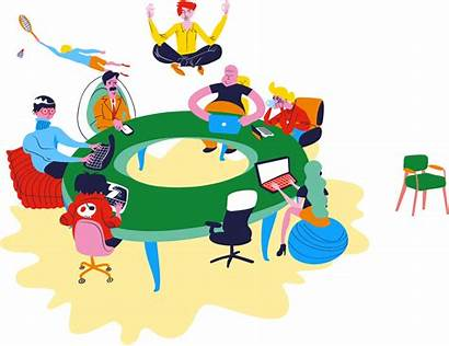 Employees Round Hr Marketing Advocates Management Talent