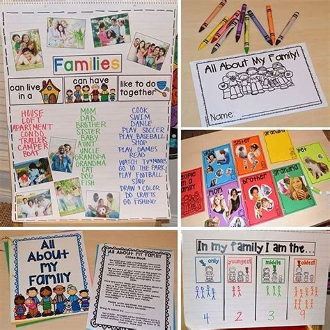 all about my school preschool theme all about my family social emotional 110