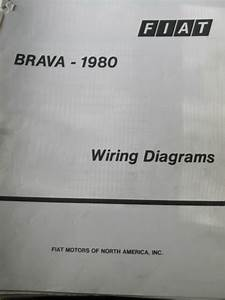 Fiat Brava 1980 Factory Wiring Diagrams 11 Pages