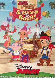 Celebrate Jake's Birthday Bash with Disney Junior - Babes ...