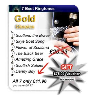 Boat Song Ringtone by Store Ringtones Scotland The Brave Flower Of Scotland