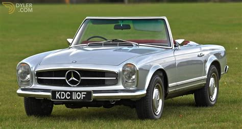 It was repainted and received two. Classic 1968 Mercedes-Benz 280 SL Pagoda RHD for Sale - Dyler