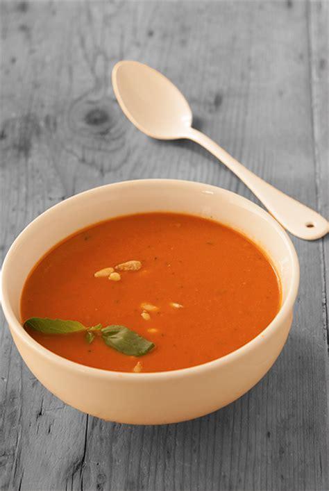 cuisine de clea velouté de tomates rôties clea cuisine