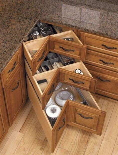 Open Kitchen Cabinet Ideas - kitchen corner cabinet storage ideas 2017