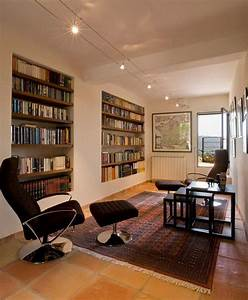 24, Beautiful, And, Cozy, Home, Library, Ideas