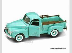 92648gn Yatming Gmc Pickup Truck 1950, 118, Green