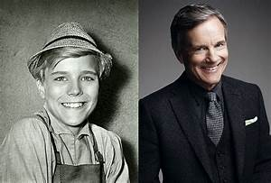 Hammond as Friedrich (left) and today.