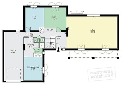 plan maison rdc 3 chambres plan maison 80m2 3 chambres primo accdant maison