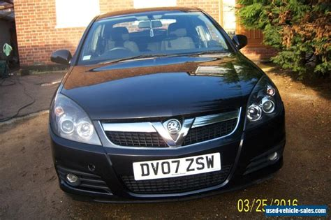 vauxhall vectra black 2007 vauxhall vectra sri cdti 150 for sale in the united