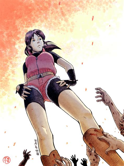 Resident Evil Tribute To Claire Redfield By Senseidani On