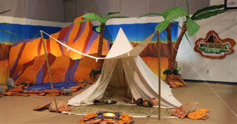 wilderness escape vbs bible crafts decorations decoration sunday room studio5380 craft monday years desert children
